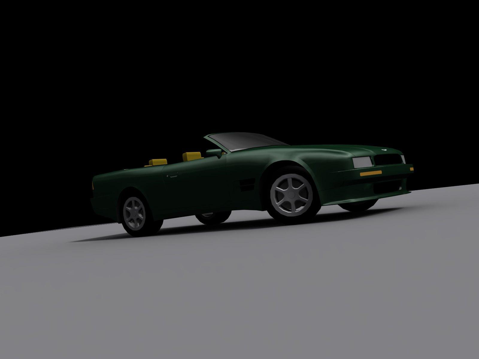 Aston Martin Virage 1990.