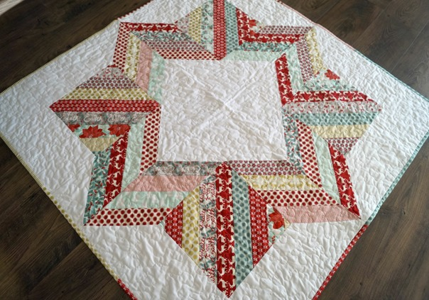 Joyful Jelly Roll Tree Skirt
