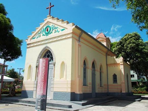 Capelinha do Sagrado Coraçao de Jesus - Mosqueiro, Parà,fonte: Rodrigo Rolim Santos