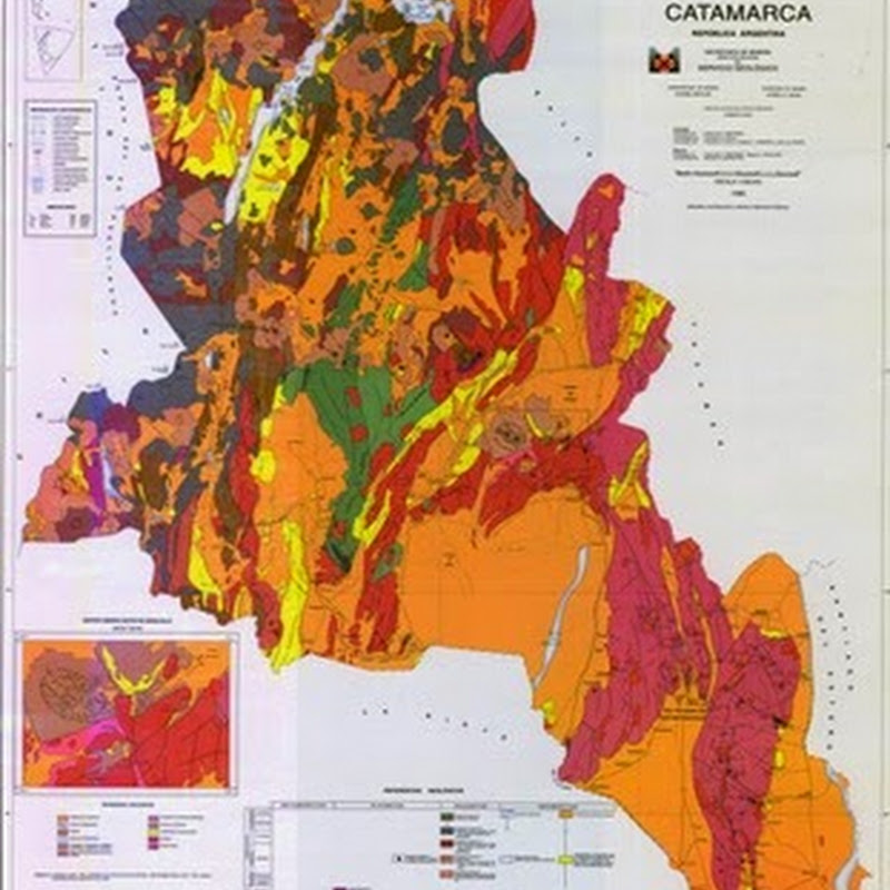 Catamarca route volcanoes.