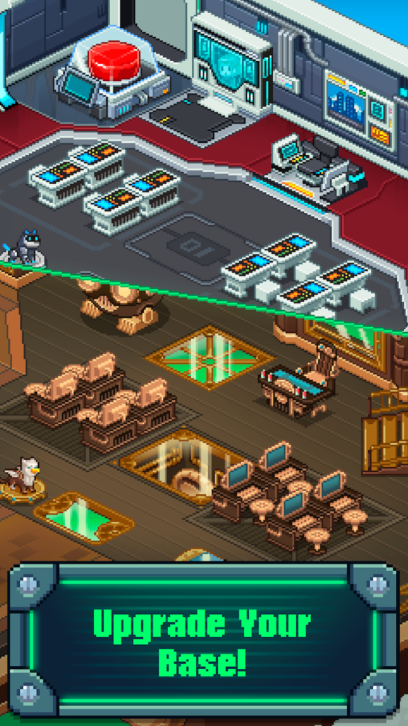 Tap Tap Evil Mastermind - Pixel Idle Clicker Screenshot 2