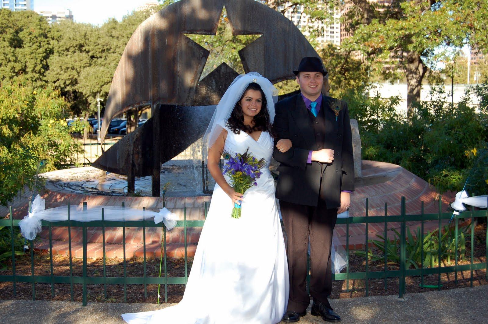 peacock themed wedding