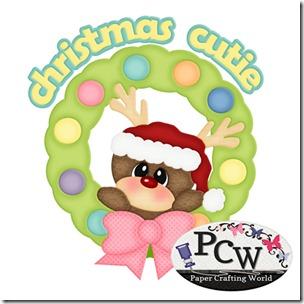 pcw reindeer in wreath-450