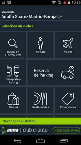 Tecnología de Beacons con la app de Aena en el Aeropuerto de Barajas