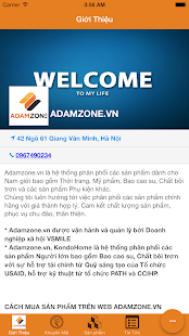 AdamZone - screenshot