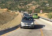 Trazzera Caltavuturo traffico