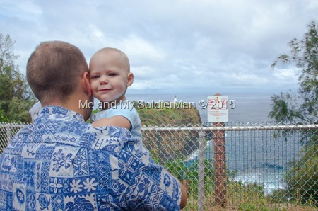 Me and My SoldierMan: Kauai North Shore