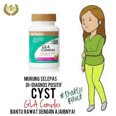 GLA Complex Hilangkan Cyst Di Payudara