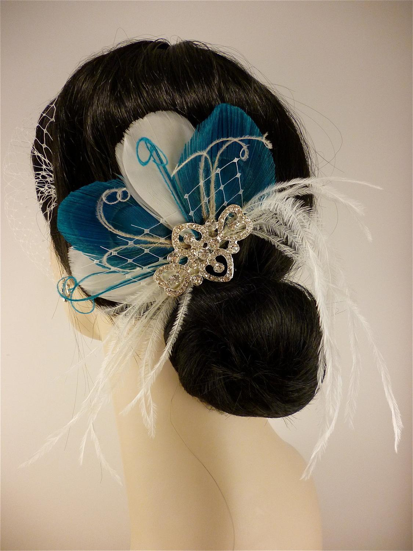 Hair Clip, Wedding Veil,