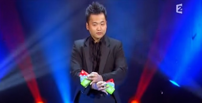 the best stage act ever by magicians an ha lim watch and enjoy