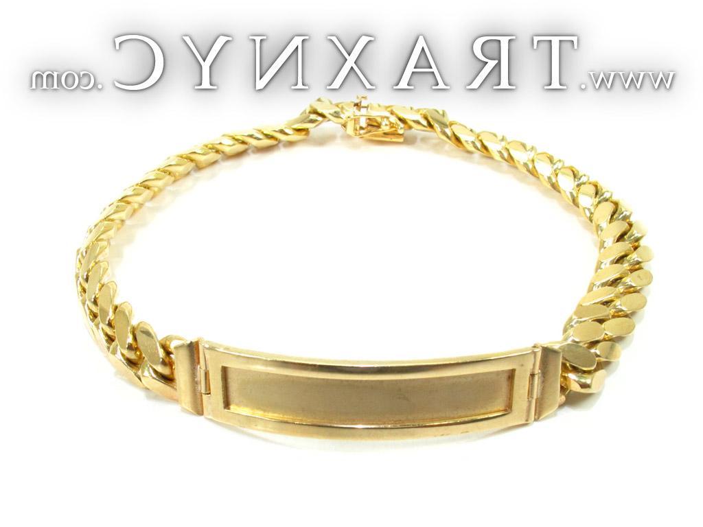 Beveled Flat Curb Bracelet