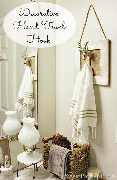 Polished Casual Decorative Hand Towel Hook Sweet Parrish Place