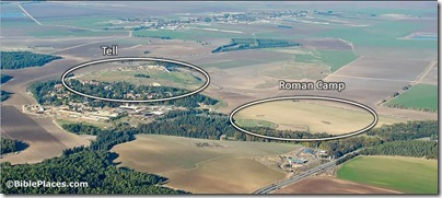 Roman-camp-Megiddo