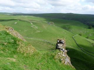 A strange rocky outcrop