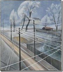 Kanoldt_telegraph_wires_1921