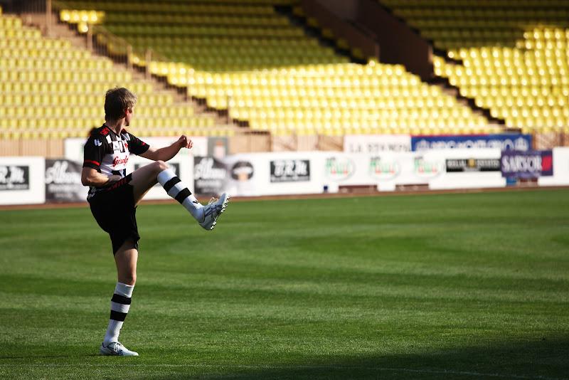 Нико Хюлькенберг на благотворительном футбольном матче в Монте-Карло 2011