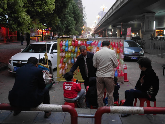 balloon shooting game operator in Shaoyang