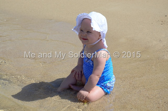 Me and My SoldierMan: A Day at the Beach