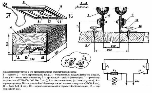 Инкубатор своими руками устройство 940