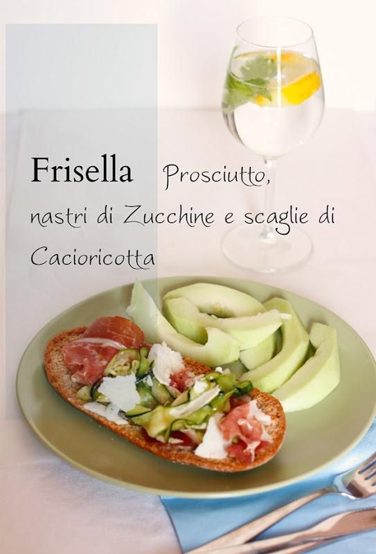 frisella con zucchine