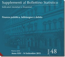 Supplementi al Bollettino Statistico. Settembre 2015