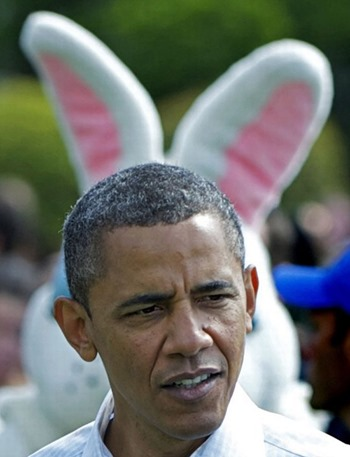 President Obama attends the annual Easter Egg Roll, Washington D