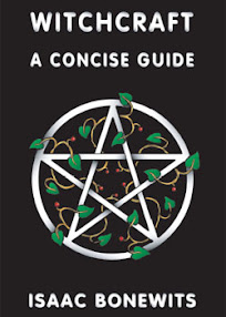 Cover of Isaac Bonewits's Book Witchcraft A Concise Guide