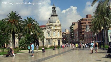 Il palazzo del Municipio - Cartagena