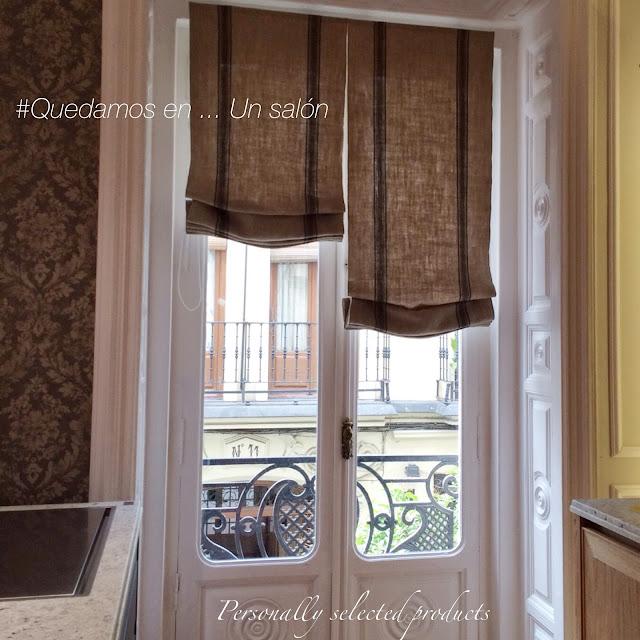 Poner estores gallery of cmo instalar un estor enrollable - Que cortinas poner en la cocina ...
