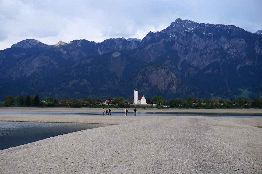 Прогулка по озеру Форгензее