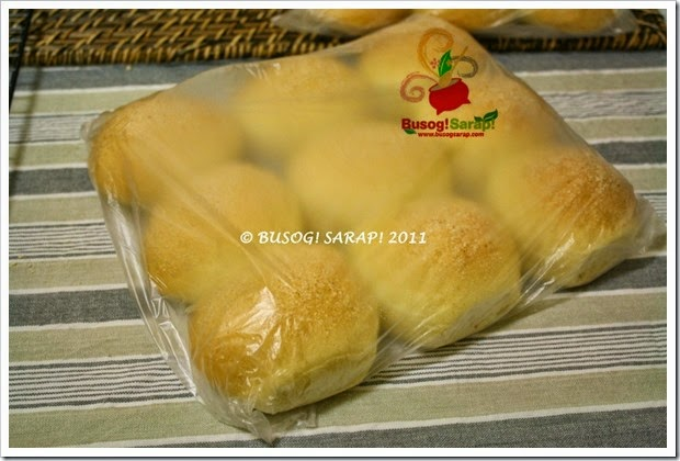 PACKAGED HOME MADE PANDESAL© BUSOG! SARAP! 2010