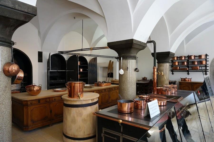 Кухня замка Нойшванштайн