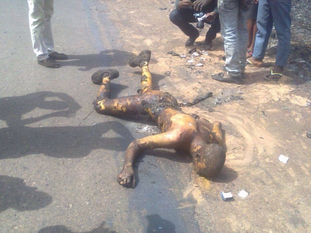PHOTOS: Over 100 Die In Nnewi Gas Plant Explosion 3