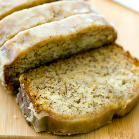 Maple Glazed Banana Bread