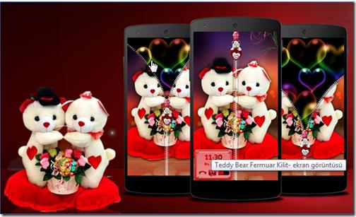 teddy-bear-ekran-kilidi