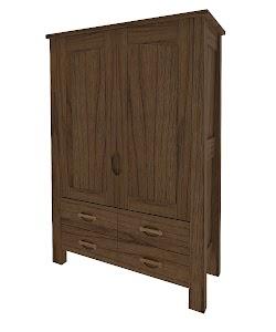 luxor armoire dresser
