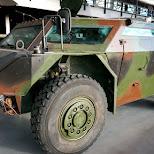 military vehicle in Soest, Utrecht, Netherlands
