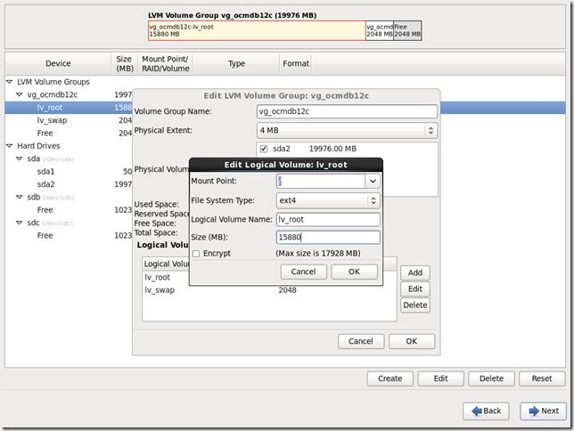 Install OS Screen 20
