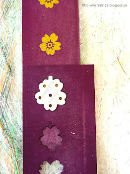 "Linda Vich Creates: Solid Gold Tips For Using The Bloomin' Heart Thinlits Die. Image shows ""closed"" flower die in place in the template."