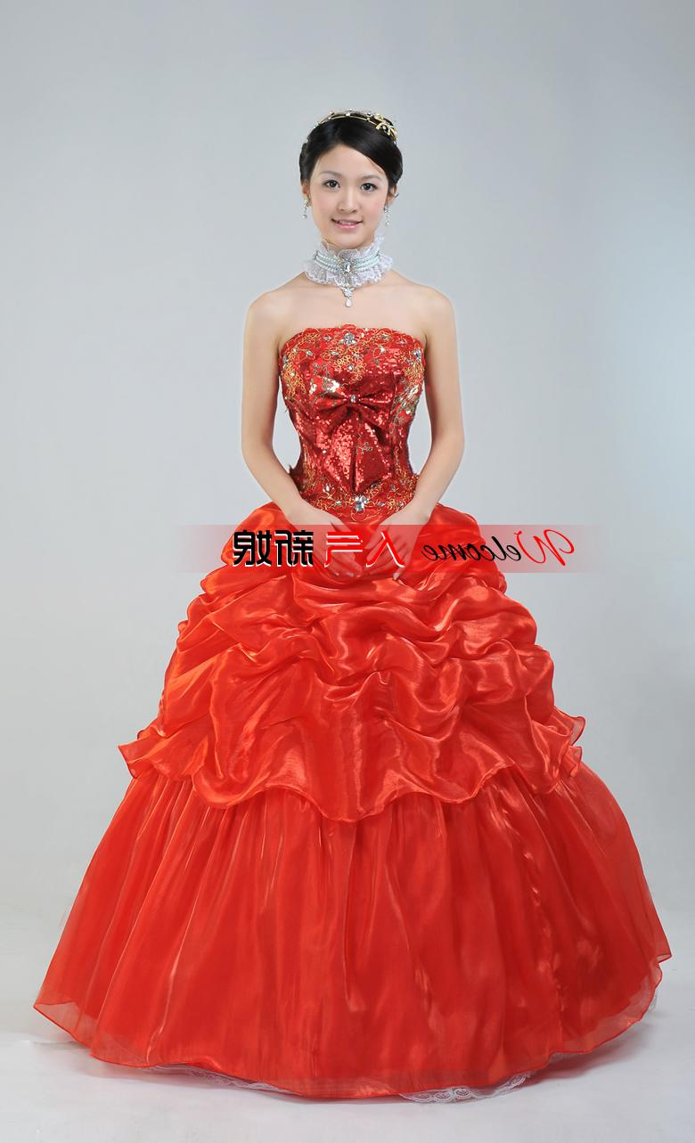 Chinese Wedding Dress Gown