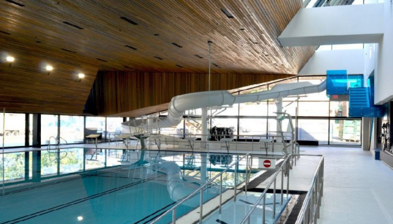 Regent Park Aquatic Centre by Mjma