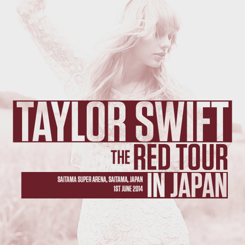 Swifties BR: Download: The Red Tour In Japan (Fan-made)