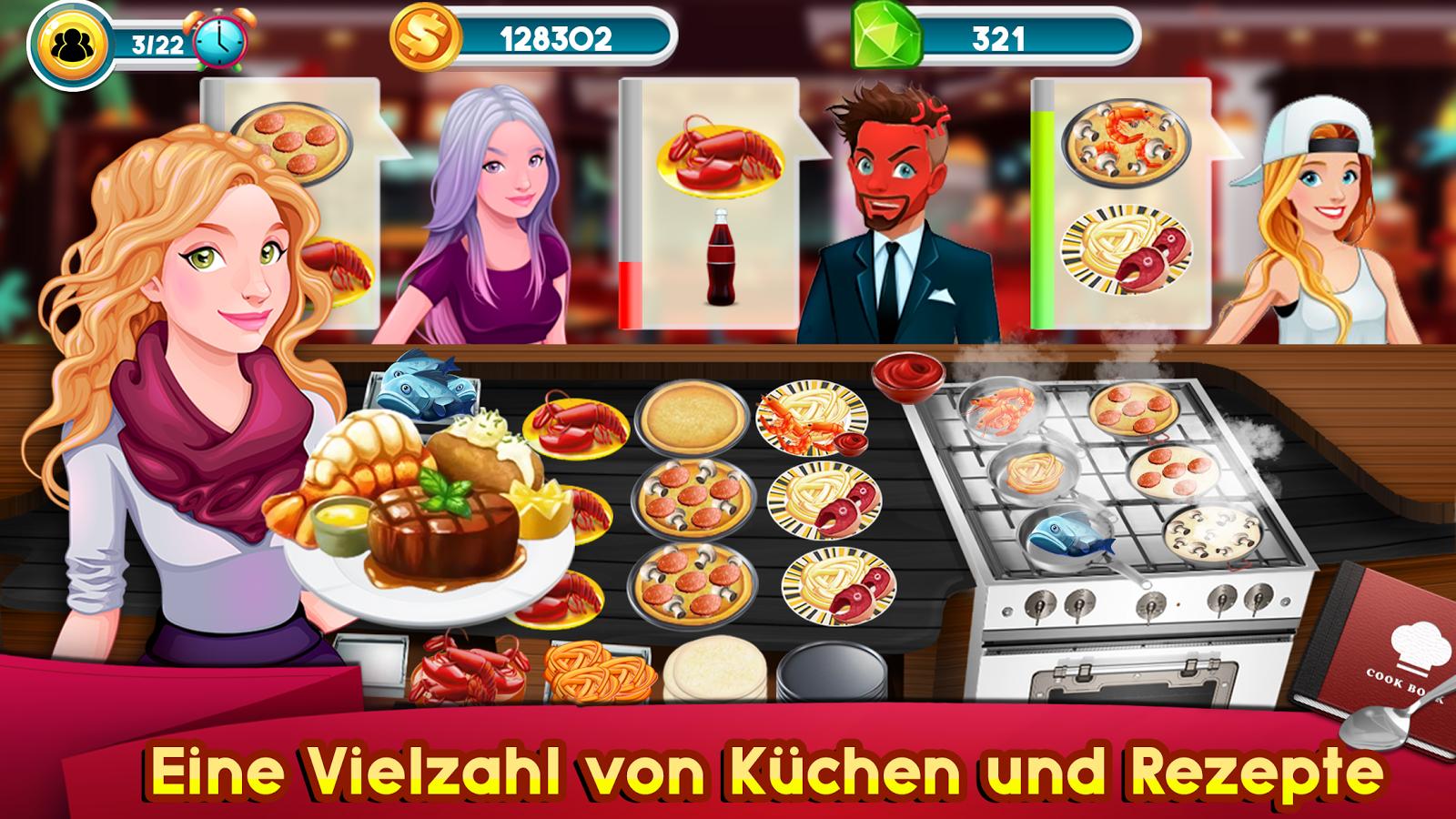 Kochen Spiele Story Chef Business Restaurant Essen android spiele ...