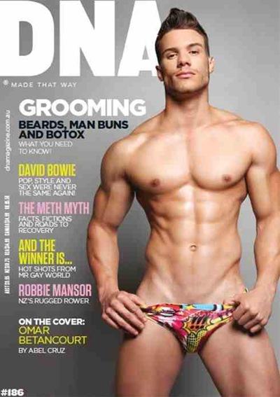 Omar Betancourt - DNA 186 cover