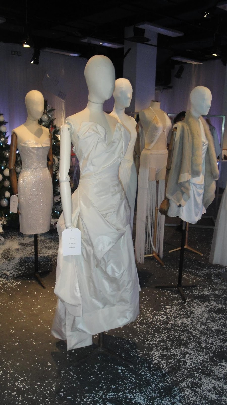 wedding dress Selfridges