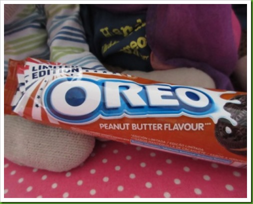 Limited Edition Peanut Butter Oreos