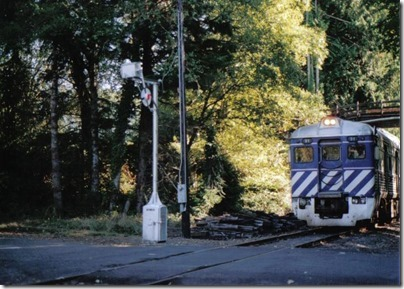 Wig-wag at Knappa, Oregon on September 24, 2005