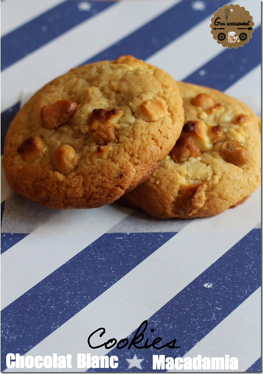 Cookies Chocolat Blanc & Noix de Macadamia 1 logo