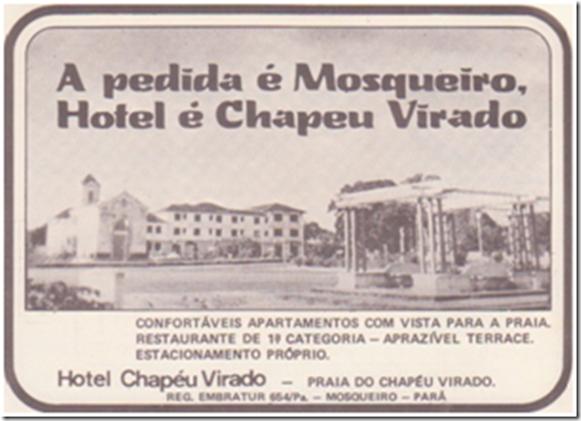 Biglietto da visita dell'Hotel Chapeu Virado - Belém do Parà, fonte: Fragmentos de Belém