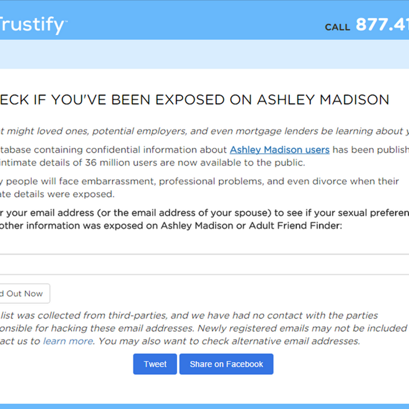 search ashley madison emails